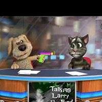 Игра говорящий и повторяющий кот
