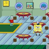 Губка боб игры ресторан бабушка ани носовой из сериала школа
